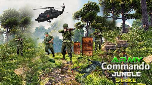 بازی اندروید ماموریت کماندو - army commando counter strike commando mission