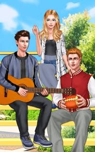 بازی اندروید داستان عشق کالج - College Love Story: Teen Crush