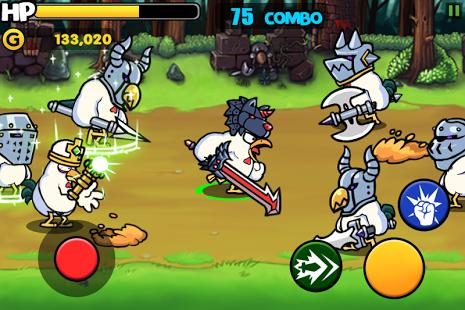 بازی اندروید انقلاب مرغ ها - جنگجو - Chicken Revolution : Warrior