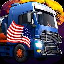 راندن وانت و کامیون آمریکایی