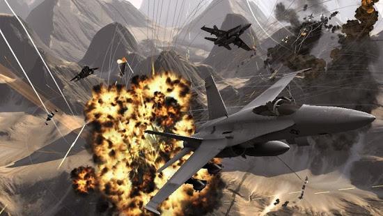 بازی اندروید ندای جنگ - ماموریت جنگ هوایی - Call Of ModernWar:Warfare Duty