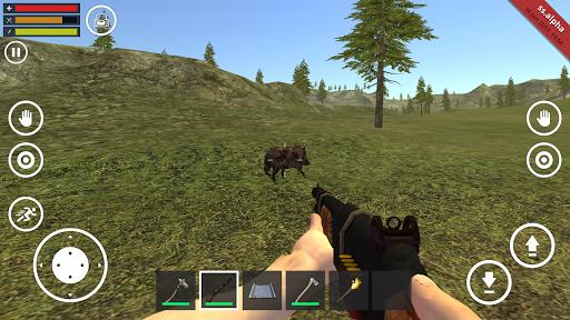 بازی اندروید زنده ماندن در جنگل - Survival Simulator