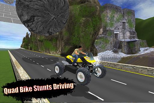 بازی اندروید موتور چهار چرخ - Motocross ATV Bike Racing Stunts