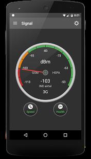 نرم افزار اندروید موبایل سیگنال - Mobile Signal