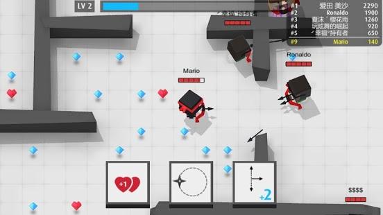 بازی اندروید تیر - Arrow.io