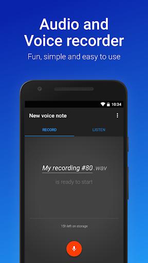 نرم افزار اندروید ضبط آسان صوت - Easy Voice Recorder