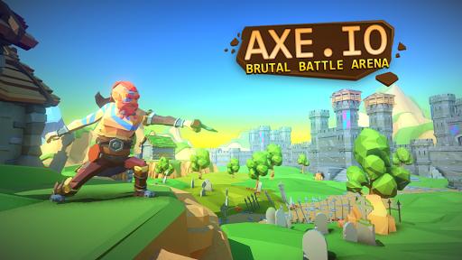 بازی اندروید پرتاب تبر - AXE.IO