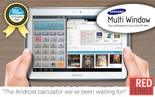 نرم افزار اندروید فرا ماشین حساب - Calculator Plus Free