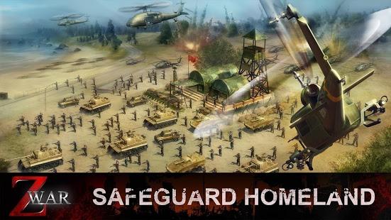 بازی اندروید نبرد زد - جنگ جهانی زامبی - Z War - Zombie World War