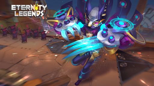 بازی اندروید ماندگاری افسانه ها - جنگجویان سلسله خدایان - Eternity Legends: League of Gods Dynasty Warriors