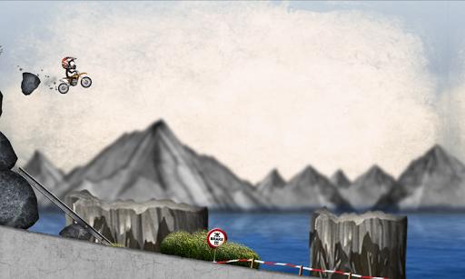 بازی اندروید استیکمن موتور سوار - Stickman Downhill Motocross