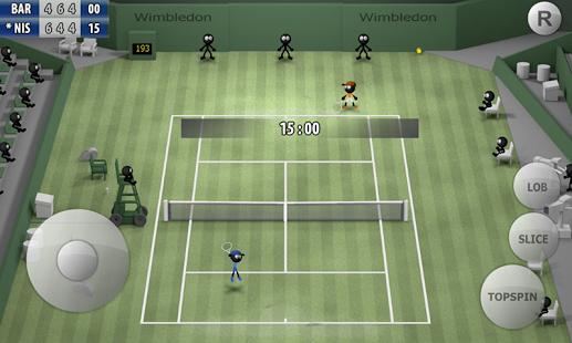 بازی اندروید استیکمن تنیس 2015 - Stickman Tennis 2015