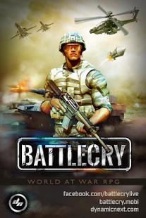 بازی اندروید فریاد نبرد جنگ جهانی - World War Game Battle Cry