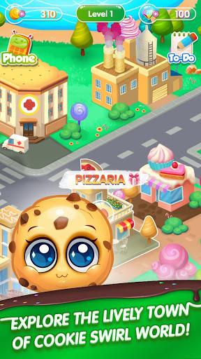 بازی اندروید جهان چرخش کوکی - Cookie Swirl World