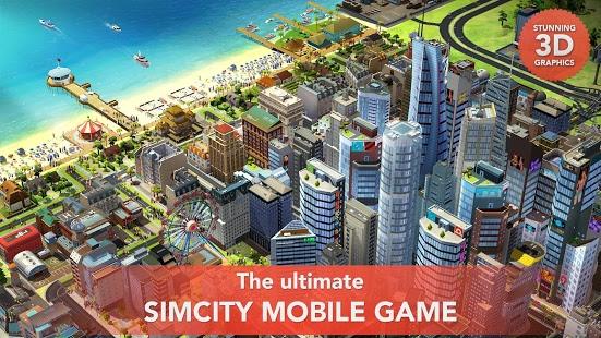 بازی اندروید سیم سیتی - SimCity BuildIt