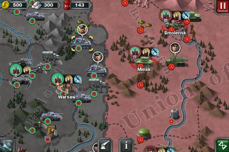 بازی اندروید فاتح جهان 3 - World Conqueror 3