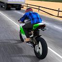 مسابقه موتورسواری در ترافیک