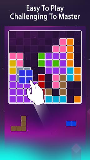 بازی اندروید پازل بلوک آنلاین 1010 - Block Puzzle Online 1010 Free Games Puzzledom