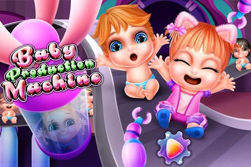 بازی اندروید ماشین تولید کودک - Baby Production Machine