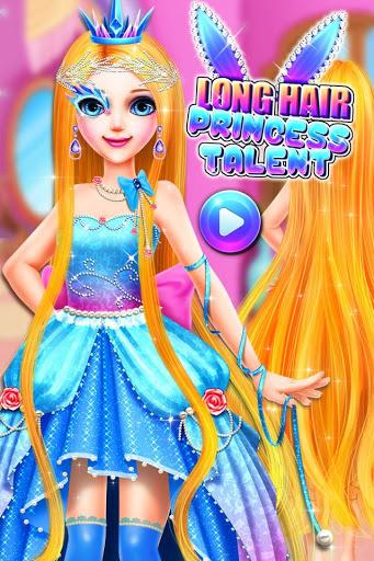 نرم افزار اندروید استعداد شاهزاده خانم مو بلند - Long Hair Princess Talent