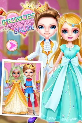 بازی اندروید سالن آرایش پرنسس پرو - Princess Prom Makeup Salon