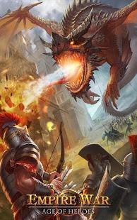 بازی اندروید نبرد امپراتوری - دوران تاج و تخت - Empire War: Age of Epic Throne