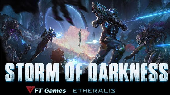 بازی اندروید طوفان تاریکی - Storm of Darkness
