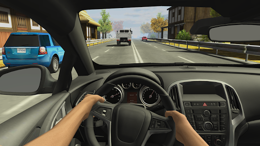 بازی اندروید مسابقه در ماشین 2 - Racing in Car 2