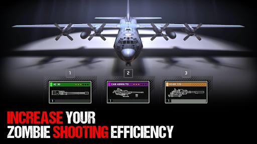 بازی اندروید کماندار بقای زامبی - Zombie Gunship Survival