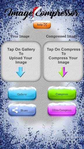 نرم افزار اندروید کم کردن حجم عکس - Image Compress (Ultra Compressor)