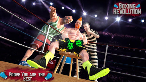 بازی اندروید دوران قهرمان بوکس - Boxing Revolution - Boxing Punch Games