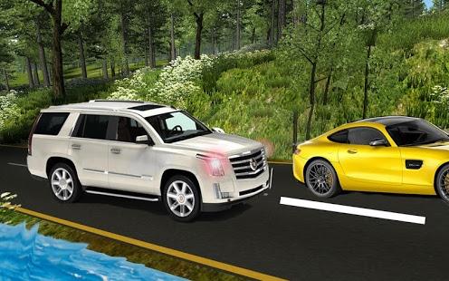 بازی اندروید رانندگی لندکروزر - Real land cruiser drive