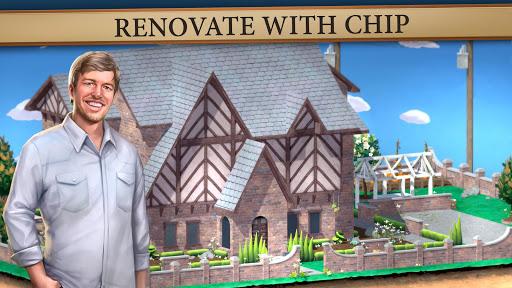 بازی اندروید بازسازی خانه با چیپ و جو - House Flip with Chip and Jo