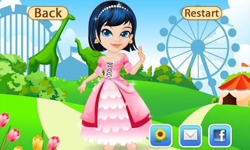 بازی اندروید لباس شاهزاده خانم - Dress Up Princesses