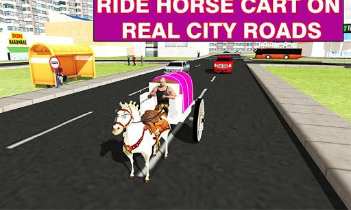 بازی اندروید درشکه عروس - City Wedding Horse Carriage