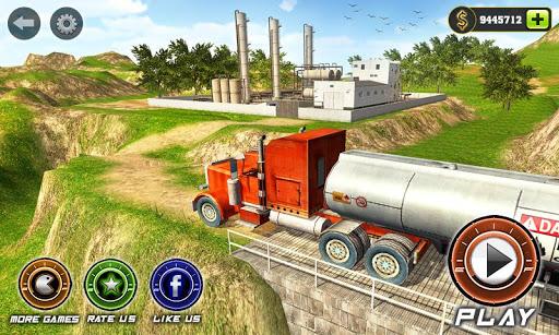 بازی اندروید کامیون تانکر نفت - Oil Tanker Transport Game 2018