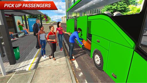 بازی اندروید شبیه ساز رانندگی اتوبوس 2018 - Coach Bus Driving Simulator 2018