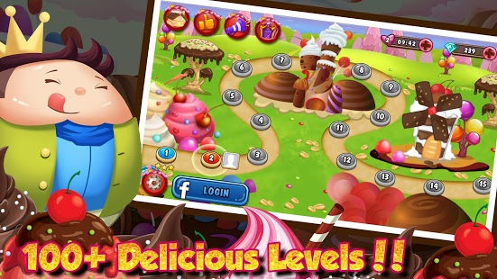 بازی اندروید مزرعه شکلات سازی - The Chocolate Factory Farm