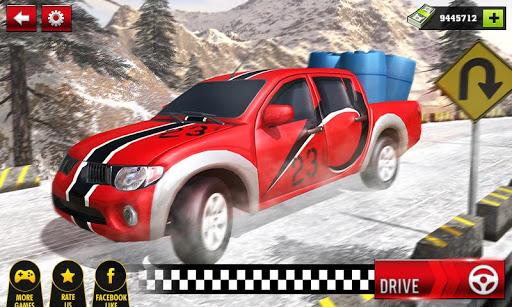 بازی اندروید راننده وانت - Uphill Cargo Pickup Truck Driving Simulator 2017