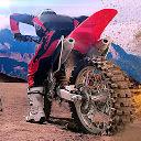 موتور سواری بیابانی