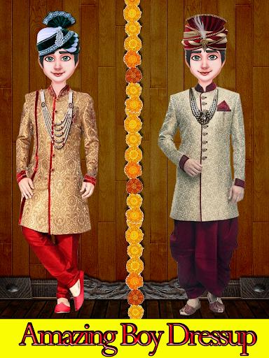 بازی اندروید تزیین عروس زیبای هند - Indian Wedding Bride Dress up & Makeover