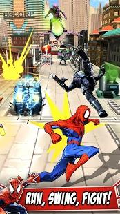 بازی اندروید مرد عنکبوتی نامحدود - Spider-Man Unlimited