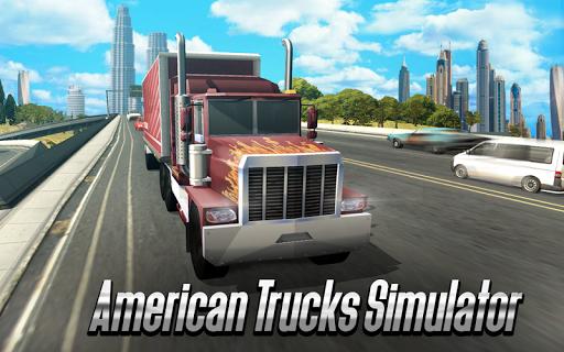 بازی اندروید رانندگی با کامیون آمریکایی - American Truck Driving 3D