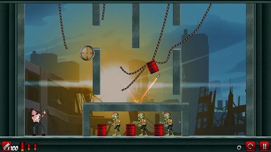بازی اندروید زامبی احمق 2 - Stupid Zombies 2