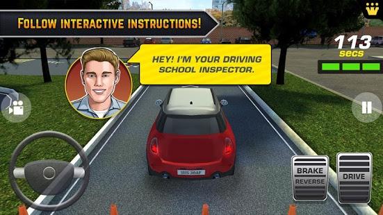 بازی اندروید آموزشگاه رانندگی و پارک ماشین - Car Driving & Parking School