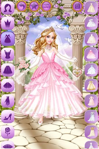 بازی اندروید لباس عروسی سیندرلا - Cinderella Wedding Dress Up