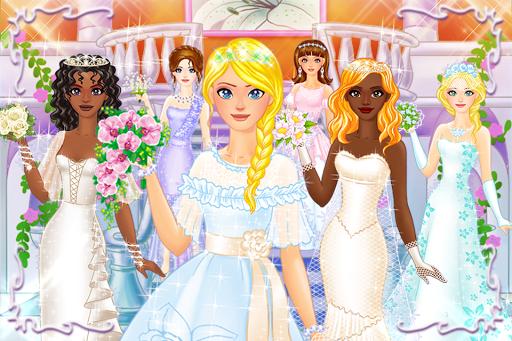 بازی اندروید لباس عروسی برای دختران - Wedding Dress Up for Girls