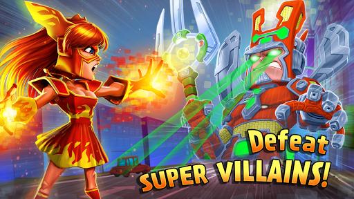 بازی اندروید افسانه عدالت - قهرمانان جنگ - Justice Legends - Heroes War: Superhero Games