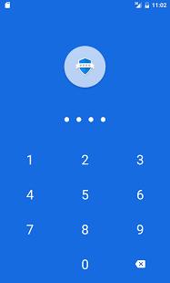 نرم افزار اندروید قفل برنامه - اثر انگشت - App Lock: Fingerprint Password