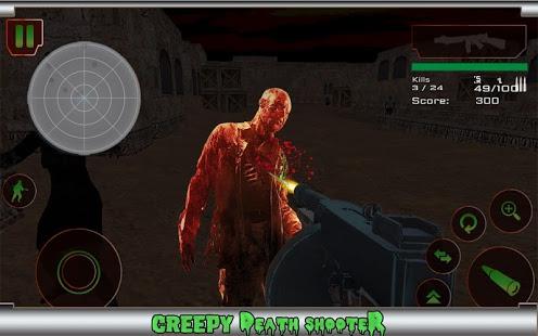 بازی اندروید تیرانداز مرگ وحشت زده - Creepy Death Shooter